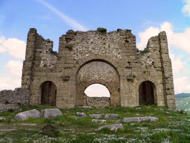 The Basilica located at the northeast corner of the Agora © Carole Raddato