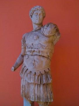 Cuirassed statue of Hadrian, from Perga, around 121 AD, Antalya Museum