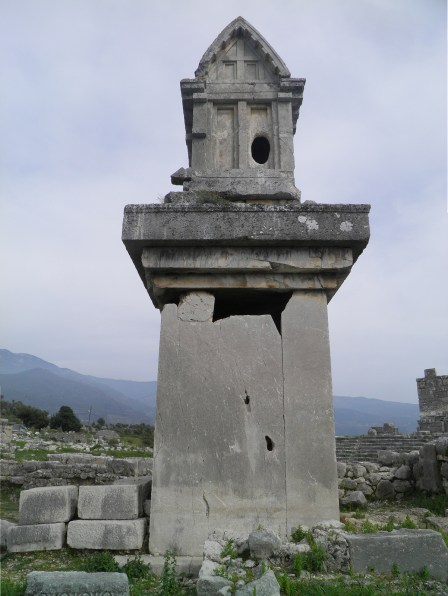 Lycian tomb next to the Harpy tomb, Xanthos © Carole Raddato