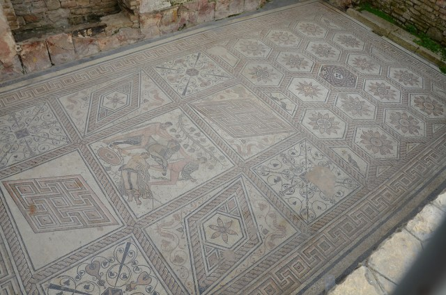 The Punishment of Dirce mosaic, Pula © Carole Raddato