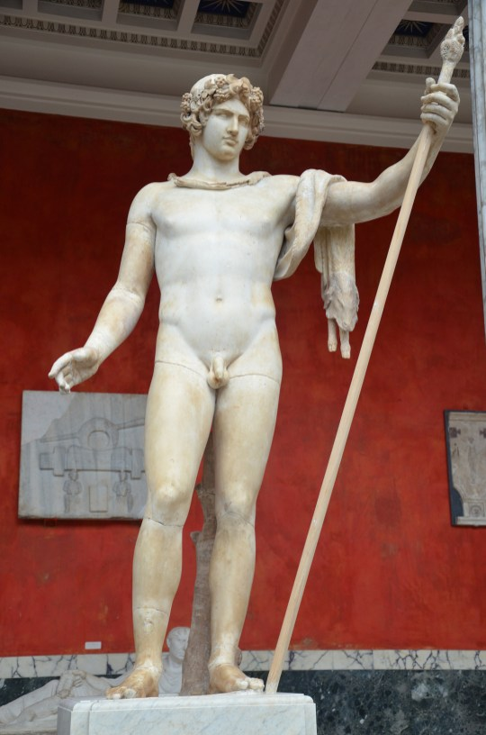 Antinous as Dionysus, Ny Carlsberg Glyptotek, Copenhagen © Carole Raddato