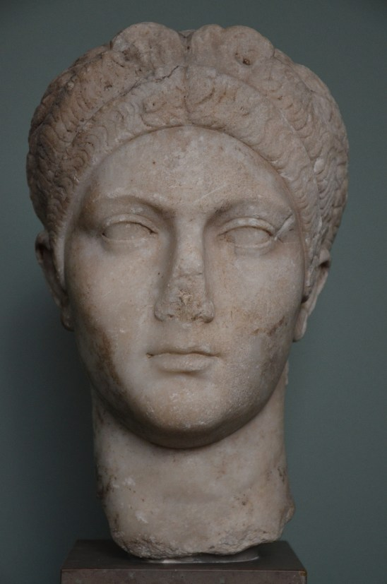 The Empress Sabina, wife of Hadrian, c. AD 128, Ny Carlsberg Glyptotek, Copenhagen © Carole Raddato