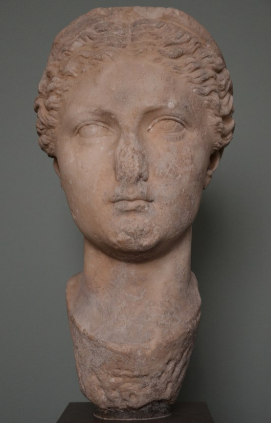 The Empress Sabina, wife of Hadrian, from Ostia, c. AD 117-118, Ny Carlsberg Glyptotek, Copenhagen © Carole Raddato