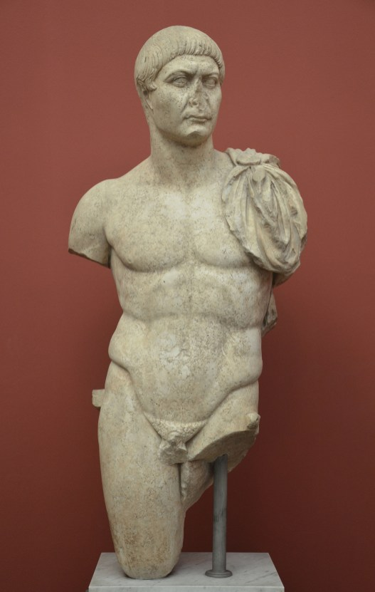 Statue of Trajan, from Rome, AD 98-117, Ny Carlsberg Glyptotek, Copenhagen © Carole Raddato