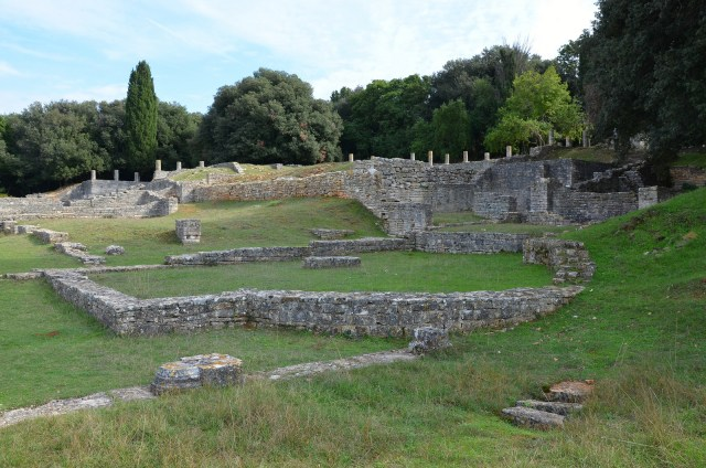 Roman Villa in the Bay of Verige, Brijuni Islands, Croatia © Carole Raddato