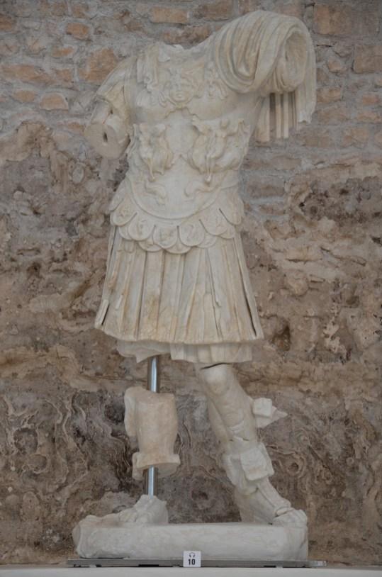 Torso of Emperor Augustus, end of 1st century BC, Archaeological museum Narona © Carole Raddato