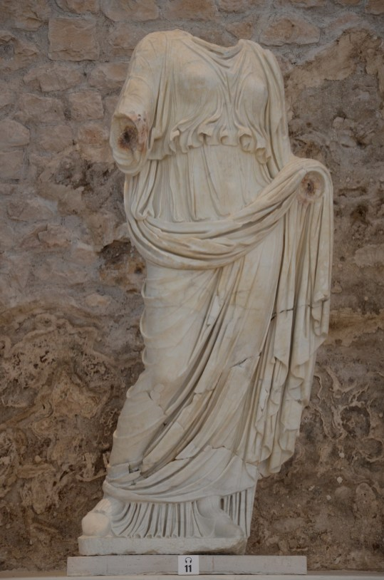 Statue of Livia, end of 1st century BC, Archaeological museum Narona © Carole Raddato