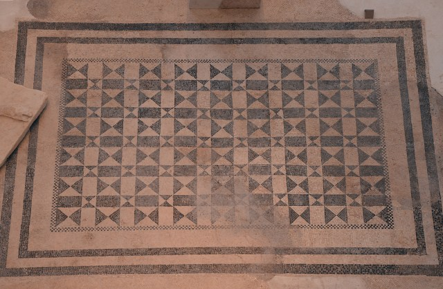The Augusteum cella's mosaic floor, Archaeological museum Narona © Carole Raddato
