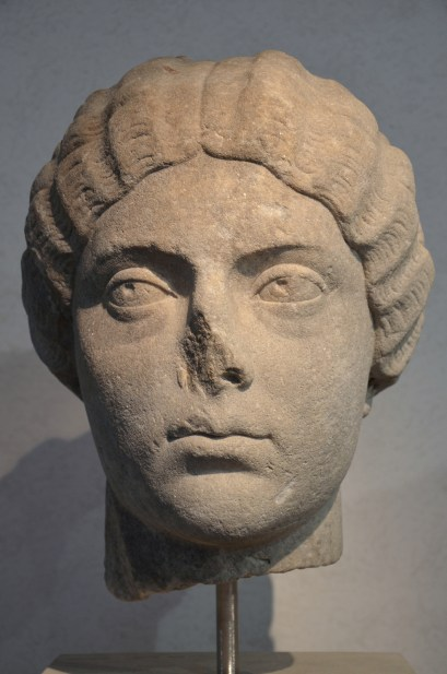 Faustina the Younger, from the area of the Villa Altieri, 175 AD.