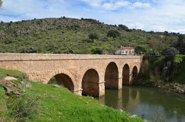 Roman bridge of Segura, built in the 2nd century under Trajan, Lusitania, Portugal © Carole Raddato