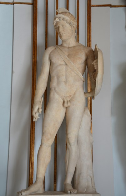 Statue of Hadrian as Mars, god of Mar, from Rome, AD 117–125, Capitoline Museums