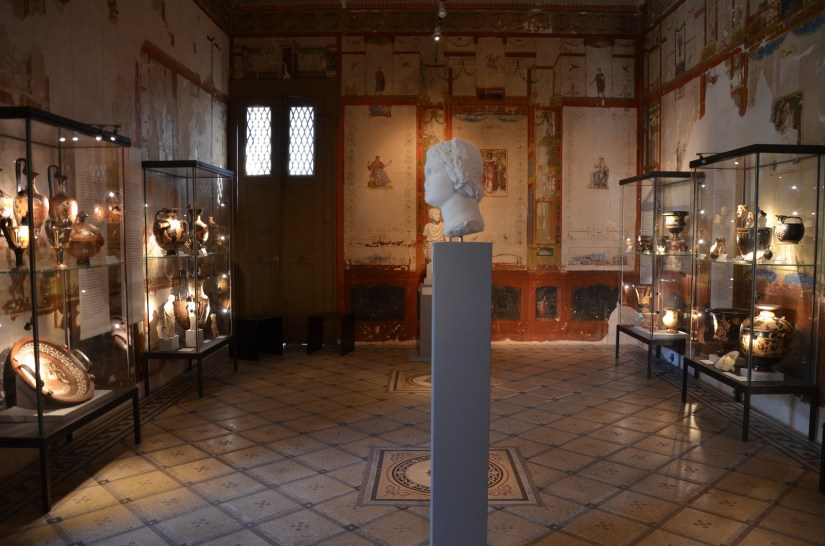 The exhibition room, Pompeiianum, Aschaffenburg, Germany © Carole Raddato