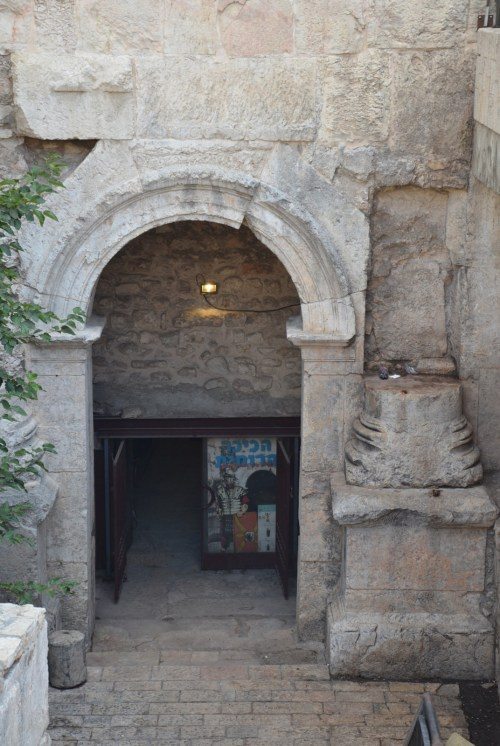 The Northern Gate of Aelia Capitolina beneath the Damascus Gate, built in 135 AD, Jerusalem © Carole Raddato