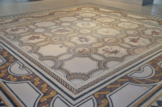 Mosaic of the seasons and the months, 3rd century AD, found in Hellin (Albacete) National Archaeological Museum of Spain, Madrid © Carole Raddato