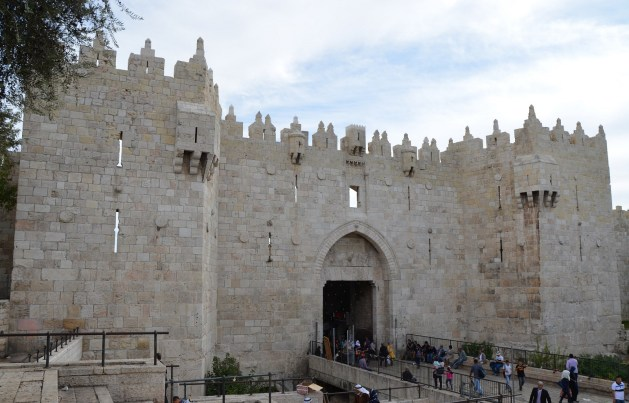 The Damascus Gate (built in the 16th century AD under the rule of the Ottoman Sultan Suleiman the Magnificent © Carole Raddato