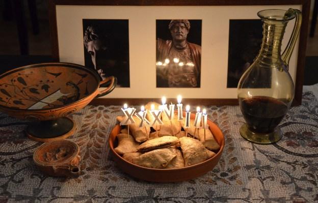 Secondae Mensae: Laterculi (Poppy-seed Cakes) Happy 1939th birthday Hadrian! © Carole Raddato