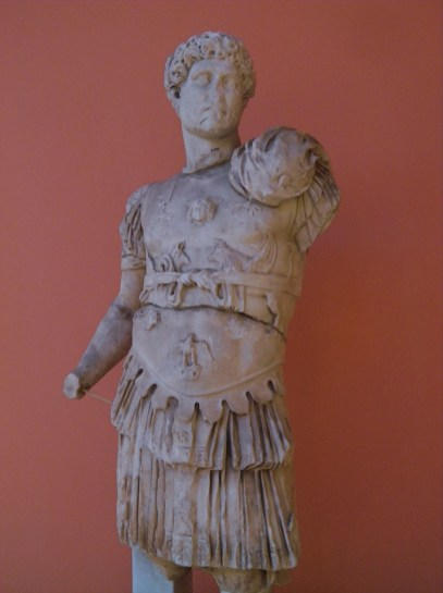 Cuirassed statue of Hadrian, from Perga, around 121 AD, Type: Stazione Termini, Antalya Museum