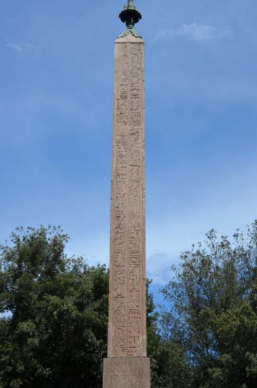 South side of the Pincian Obelisk.