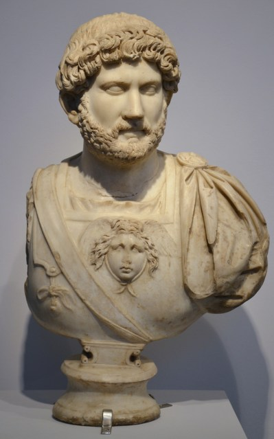 Marble bust from Italica.