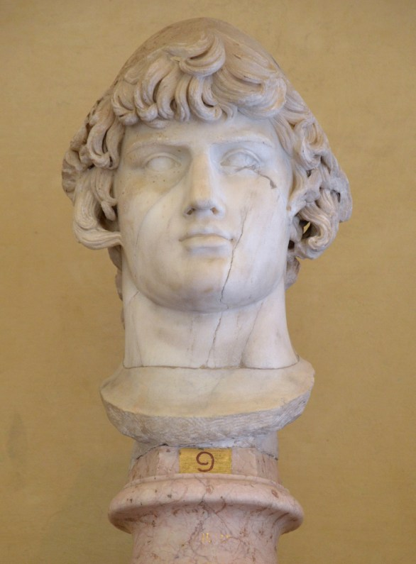 Antinoos as Ganymedes, Chiaramonti Museum, Vatican Museums