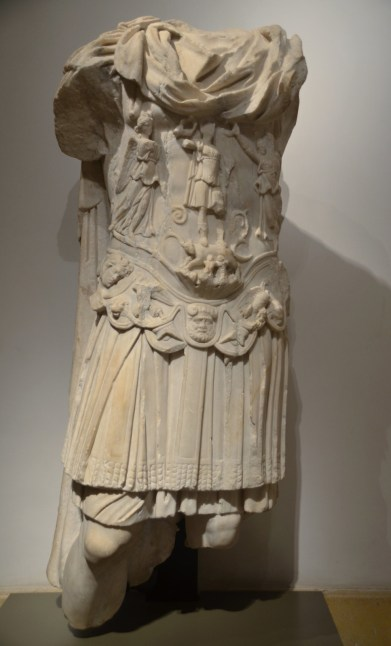 Cuirassed statue of Hadrian, from Tyre, National Museum of Beirut, Lebanon.