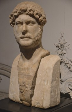 Bust of emperor Hadrian, Alexandria National Museum, Egypt