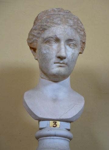 Portrait bust of Sabina, Rome, Vatican Museums