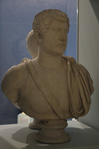 Bust of Hadrian, Type: Busti 283, from Italy, World Museum, Liverpool