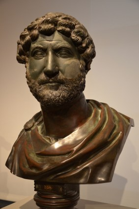 Bust of Emperor Hadrian, 120 - 130 AD, Altes Museum