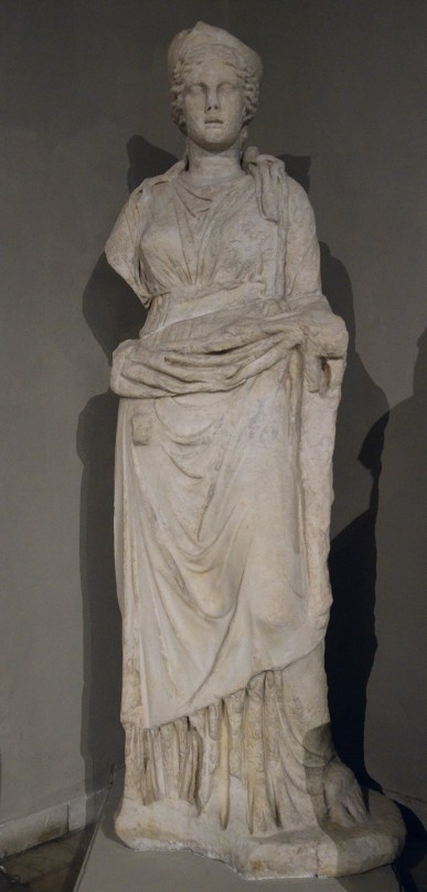 Over life-size statue of Hera, from the Gymnasium of Salamis, 2nd century AD, Cyprus Museum