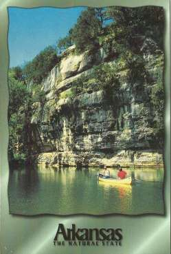 Postcard Arkansas