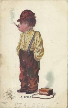 Postcard Kid Cigar