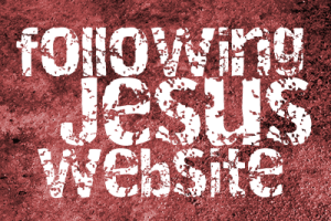 Following Jesus website