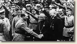 Adolf Hitler and church bishops