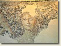 Sepphoris mosaic of woman