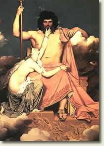 Zeus in heaven