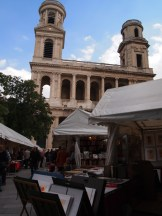 Saint Sulpice and book market