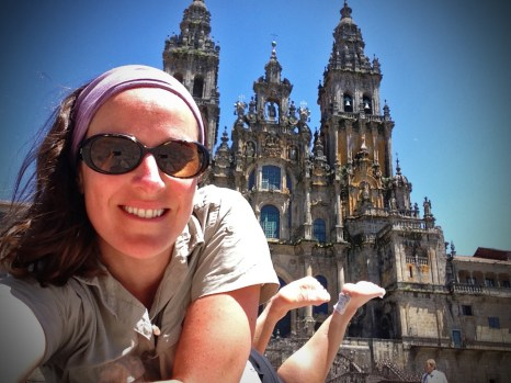 The end of my first camino
