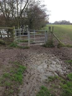 It's getting muddy