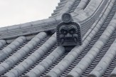 Roof tiles at Temple 28, Dainichiji
