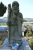 Jurojin, the God of longevity