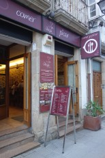 The restaurant where I got the delicious salad in Betanzos