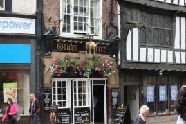 Precious old buildings in York
