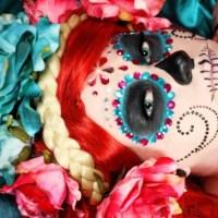 Halloween Make-Up: Teschi & Rose