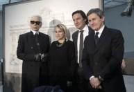 Karl-Lagerfeld-Silvia-Venturini-Fendi-Pietro-Beccari-e-Gianni-Alemanno