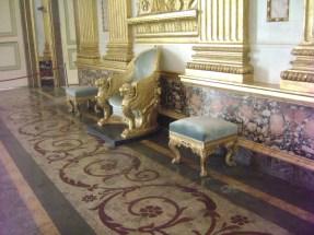 la sala del trono