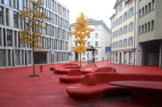 Carlos Martinez e Pipilotti Rist. Quartiere Bleicheli, St.Gallen-Bodensee 2005