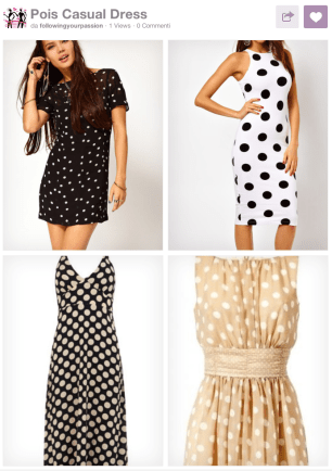 Pois Casual Dress