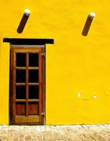week-end-color-yellow-architecture-wall