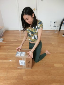 mansur gavriel mini backpack unbox